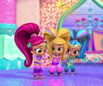 Paillettes & Papillons - Shimmer & Shine