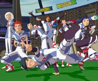 Galactik football en streaming dessins anim s galactik football - Coloriage galactik football ...