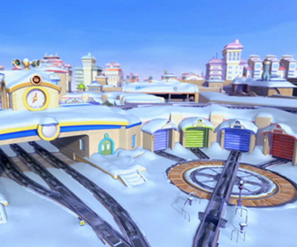 Chuggington - La neige