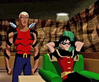 Young Justice - S1 E4 : Zone de largage